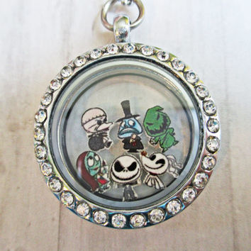 Disney's The Nightmare Before Christmas Floating Charms