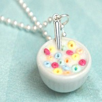 Cereal Bowl Necklace