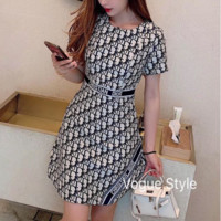 DIOR Women Short Sleeve Dress