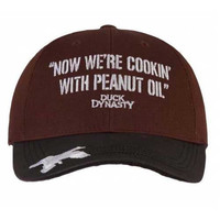 Duck Dynasty Officially Licensed Hunting Hats Cap, Peanut Oil