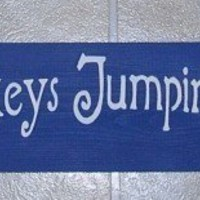 Wood Sign No More Monkeys Jumping On The Bed  You Pick Colors
