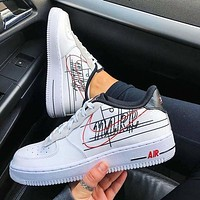 NIKE AIR FORCE 1 '07 3 AF1 Sneakers Sport Shoes