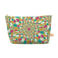 "Kess InHouse Everything Bag, Tapered Pouch, Miranda Mol ""Flourishing Green"" Green Multicolor, 8.5 x 4 Inches (MM4085BEP03)"