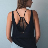 Slash Racer Back Bralette