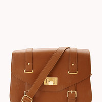 Everyday Faux Leather Satchel