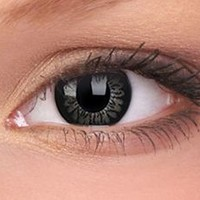 Bigger Eyes 15mm Awesome Black Contact Lenses | EyesBright.com