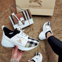 BURBERRY Leisure fashion low-top shoes