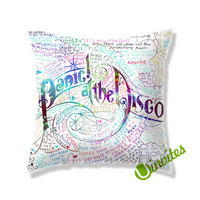 Panic At The Disco Square Pillow Cover