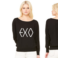 EXO women's long sleeve tee