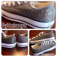 Ombre SWAROVSKI Crystal Rhinestoned CONVERSE Chuck Taylor All Stars