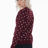 Polly the Polka Dot Sweater