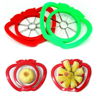 Kitchen Helper On Sale Cute Hot Deal Hot Sale Home Stylish Easy Tools Multi-functioned Big Size Stainless Steel Apple Slicer Fruits Cherry Seeder [6283904262]