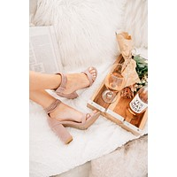 Cammy Strappy Heels (Desert Rose)