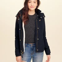 Girls Hollister All-Weather Stretch Sherpa-Lined Jacket | Girls Jackets & Coats | HollisterCo.com