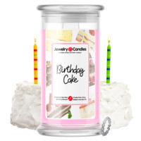 Birthday Cake Jewelry Candle