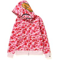 ABC CAMO SHARK FULL ZIP HOODIE LADIES