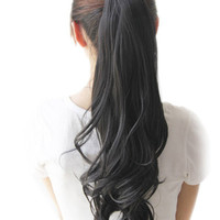 Synthetic Long Curly Hair Extensions