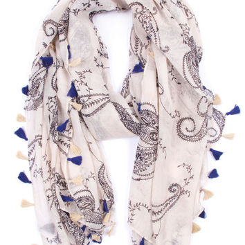 Royal Treatment Tassel Scarf