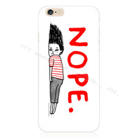 Stylish NOPE Silicone Phone Case For Apple iPhone 5 5S