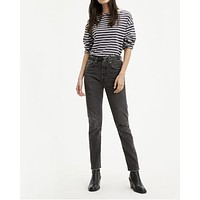 Levis 501 Skinny Black Mail