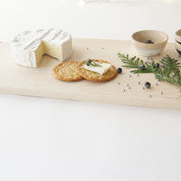 Color Dipped Maple Serving Board