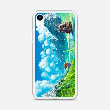 Moving Castle iPhone XR Case