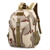 Men Waterproof&Breathable Camouflage Tactical Travel backpack Hiking Climbing Camping backpack Outdoor Sport bag 3801