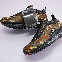 "Nike Air Max 97 Japan Retro Running Shoe ""Leaf Camo"" AJ2614-202"