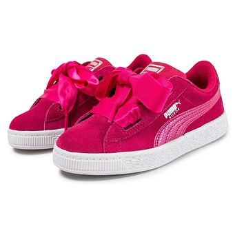 Puma Suede Heart SNK Love Potion Hot Pink 364920 03 Infant Baby Sneakers