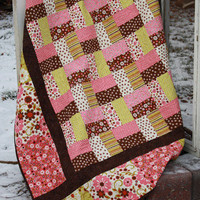 Lap Quilt Pattern, Wooly Critters by Hopscotch Quilt Designs,Beginner