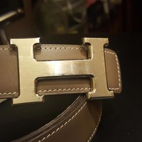 100% Authentic Hermes Belt and Buckle size 85