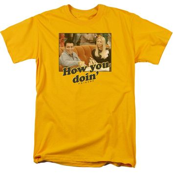 Friends - How You Doin Short Sleeve Adult 18/1