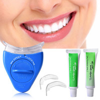White Light Teeth Whitening Tooth Gel Whitener Health Oral Care Toothpaste Kit For Personal Dental Care Healthy LE4