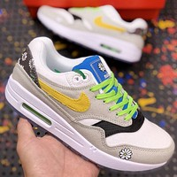 Nike Air Max 1 Daisy Pack New fashion hook couple shoes