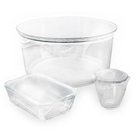 Reusable Clear Food Wrap Set