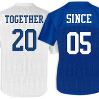 Together Since Jersey: Custom Junior Fit Augusta Replica Mesh Football Jersey - Customized Girl
