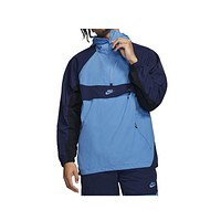 Nike Men's Sportswear NSW Pullover Hooded Woven Jacket University Blue Navy