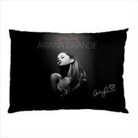 New Ariana Grande YoursTruly Autograph Music Pillow Case Collectible Gift Great
