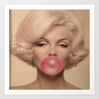 MM Bubble Art Print by LuxuryLivingNYC