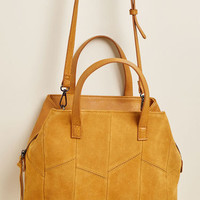 Full STEM Ahead Bag in Mustard Yellow