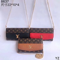 LV  Women Leather Shoulder Bag