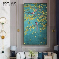 Chinese Meticulous Strokes Magpies Flowers Birds Posters Canvas Paintings Wall Art Picture For Living Room Study Room Home Decor