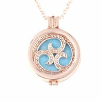 Aromatherapy Essential Oil Diffuser Necklace Locket