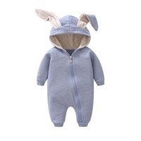 Baby Bunny Hooded Onesuit