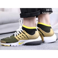 NIKE AIR Presto Knit Mesh Casual Breathable Sneakers F-CSXY