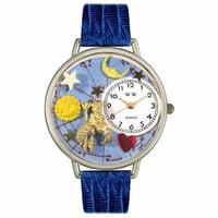 Aquarius Watch in Silver (Large)