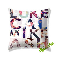 5 Second Of Summer Name Design Square Pillow Cover