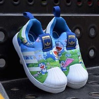 ADIDAS Girls Boys Children Baby Toddler Kids Child Durable Old Skool Sneakers Sport Shoes-4