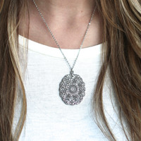 All About The Silver Necklace