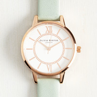 Head of the Classic Watch in Mint & Rose Gold | Mod Retro Vintage Watches | ModCloth.com